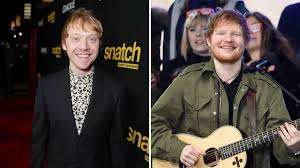 100 Rupert Grint Ice Cream Truck Ed Sheeran Is Just A Fake Character Created By To Fill