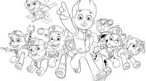 Free Collection Of 40 Paw Patrol Christmas Coloring Pages