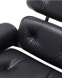 Eames Sofa Compact Used by Eames Lounge Chair