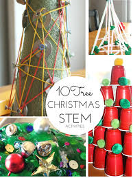 Gumdrop Christmas Tree Decorations by Christmas Stem Ideas Engineering Christmas Trees Stem Activities