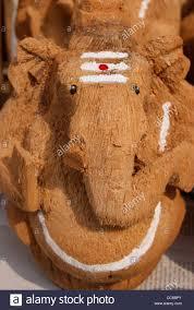 Beautiful Coconut Husk Handicraft Of Lord Ganesh God Ganapati