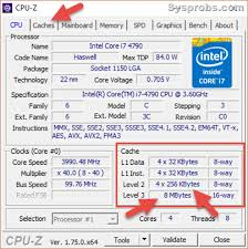 How to Check Processor CPU Cache Memory in Windows 10