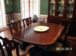 ethan allen dining room table ebay mahogany tables round chairs