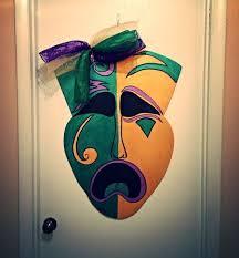 Burlap Mardi Gras Door Decorations by 50 Best Mardi Gras Images On Pinterest Carnivals Mardi Gras