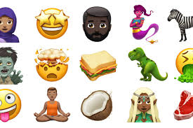 Apple shows off some of the new emoji ing to iOS and macOS