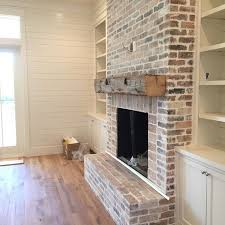 Paint Colors Living Room Red Brick Fireplace by Best 25 Brick Fireplace Makeover Ideas On Pinterest Brick