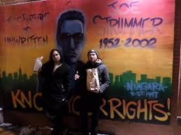 Joe Strummer Mural New York City by Podcast Mike And Janos Check Out Hi Fi Bar Janos Nyc