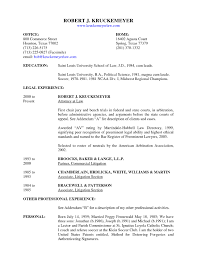 Attorney Resumes Unique Contract Resume Sample Rh Madiesolution Com Summary Section Lateral