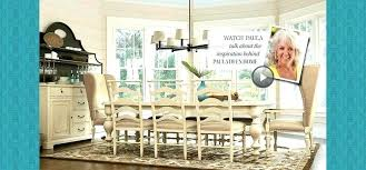 Paula Deen Furniture Dillards Dining Room Table Home Collection Line