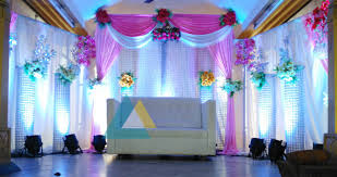 Decorating Ideas For Small Wedding Reception Affordable Decorations Hall Decoration Items
