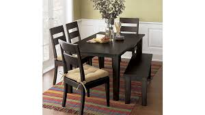 Crate And Barrel Dining Room Chairs by Basque Java Dining Tables Crate And Barrel