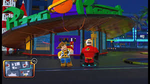 100 Pizza Planet Truck Incredibles Lego The Woody Finds A Red Brick At