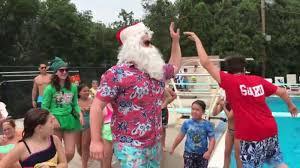 Wyckoff Christmas Tree Farm by Video Cedar Grove Celebrates Christmas In July