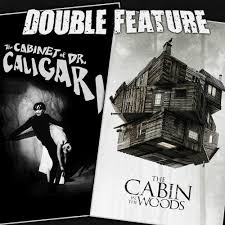 The Cabinet Of Doctor Caligari 1920 by The Cabinet Of Dr Caligari The Cabin In The Woods Double Feature