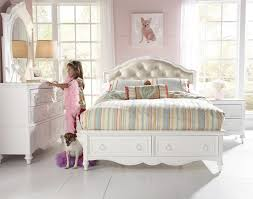 Decor White Bed With Drawers By Morris Home Furnishings Plus