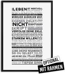 selfmadesoul typografie bilder mit sprüchen als deko für schlafzimmer motivationsbilder mit sprüchen für büro schwarz weiß poster als geschenk