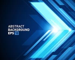 3d Abstract Glow Background Vector