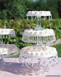 Jeweled Cake Stand Brilliant Application For Chandelier Beads Use Double Sided Tape And Ribbon To Attach The Plastic Love Me Some Martha