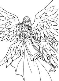 Coloring Pages Mermaid Melody 44