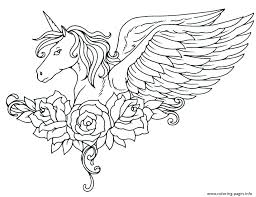 Unicorns Coloring Pages Baby Unicorn Cute Color Sheet