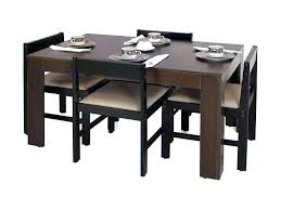 Retro Dining Set Luxurious Kitchen Table And Chairs Comfortable Unique Bench Or