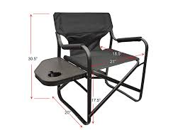 Amazon.com : Folding Directors Chair Foldable Chair With Side Table ... Porta Brace Directors Chair Without Seat Lc30no Bh Photo Tall Camping World Gl Folding Heavy Duty Alinum Heavy Duty Outdoor Folding Chairs 28 Images Lawn Earth Gecko Wtable Snowys Outdoors Natural Gear With Side Table Creative Home Fniture Ideas Glitzhome 33h Outdoor Portable Lca Director Chair Harbour Camping Heavyduty Chairs X2 Easygazebos Duratech Horse Tack Equipoint