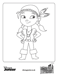 Disney Junior Coloring Pages With For Kids Archives