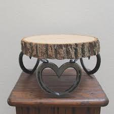 Wedding Cake Posture Sturdy Rustic Cupcake Stand Wood