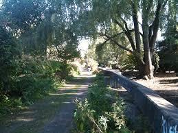 Watertown MA Rail Trail from School Street to Grove Street