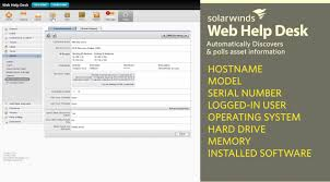 Solarwinds Web Help Desk Reports by Best It Help Desk Software For Computer Tech Support Dept 2017