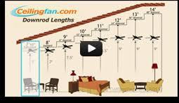Litex Ceiling Fan Downrod by Ceiling Fan Downrod Guide