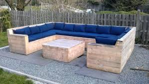 canapé en palette de bois canape exterieur en palette canapac palette exterieur salon de