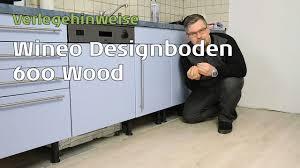 Küche Boden Verlegen Wineo 600 Vinylboden In Der Küche Verlegen