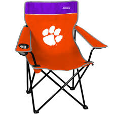 Coleman Clemson Tigers Quad Folding Chair - Orange/Purple Ncaa Chairs Academy Byog Tm Outlander Chair Dabo Swinney Signature Collection Clemson Tigers Sports Black Coleman Quad Folding Orangepurple Fusion Tailgating Fisher Custom Advantage Zero Gravity Lounger Walmartcom Ncaa Logo Logo Chair College Deluxe Licensed Rawlings Deluxe 3piece Tailgate Table Kit Drive Medical Tripod Portable Travel Cane Seat
