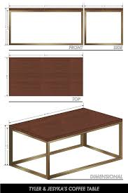 Standard Dining Room Table Size by Coffee Table Dimensions Standard Height Of Cocktail Tables