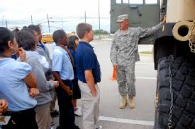 Soldiers Use Trucks To Teach Math And History To Kids | Article ...