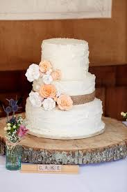 Icing Flowers Hessian Log Cake Quaint Rustic Seaside Windmill Wedding Norfolk