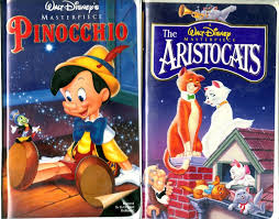 Pinocchio VHS 1993 & The Aristocats 2 Disney VHS