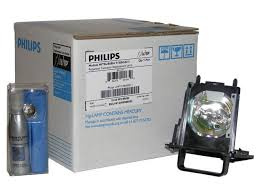 original philips rear projection replacement l bulb housing for