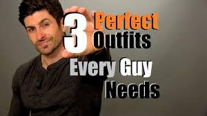 3 every guy needs men u0027s wardrobe essentials youtube