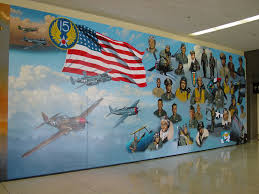 Denver International Airport Murals Painted Over by James Harvey Everything In Life Is An Attitude Airport Journals