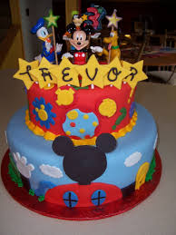 New Mickey Mouse Fondant Cakes Fondant Cake
