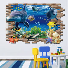 10 Models Hot DIY 3D Cartoon Wall Murals Wallpaper Sticker Finding Nemo Self Adhesive Wallpapers For Bedroom Child House Decor In Stickers From Home