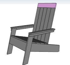 Ana White Childs Adirondack Chair by Ana White Modish Adirondack Chair Diy Projects