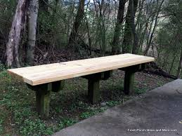 nice wood for outdoor bench red cedar traditional backless bench