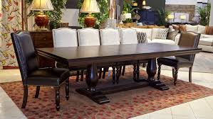 Java Dining Table With Carson And Vanderbilt Chairs Large