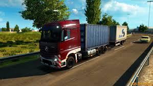 MERCEDES BENZ ACTROS MP4 RGD V1.2 Truck -Euro Truck Simulator 2 Mods