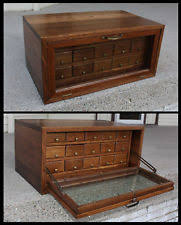 Wooden Gun Cabinet With Etched Glass by Antique Cabinets U0026 Cupboards Ebay