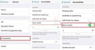 Enable Turn ON Mono Audio on iPhone – iOS 8 [How to]