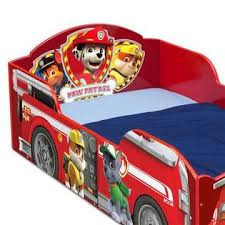 Thomas The Tank Engine Toddler Bed by Delta Children Paw Patrol Wood Toddler Bed